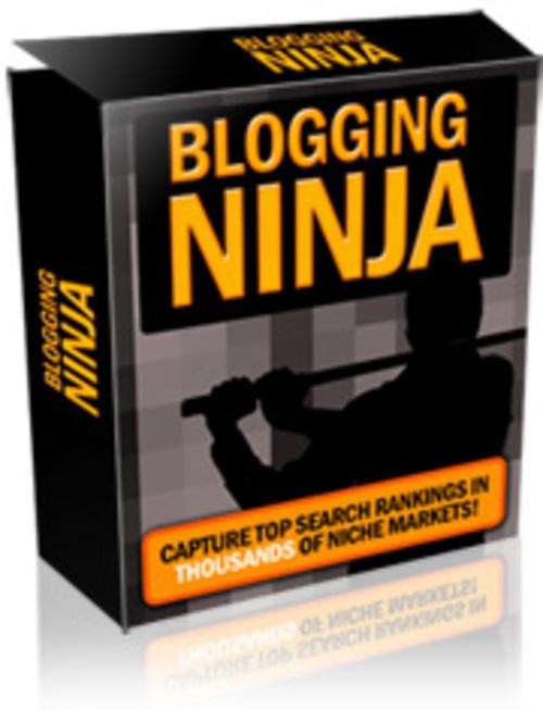 Product picture Blogging Ninja plus Bonuses